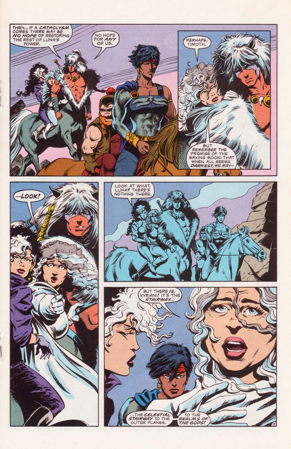 Read online Advanced Dungeons & Dragons comic -  Issue #22 - 15