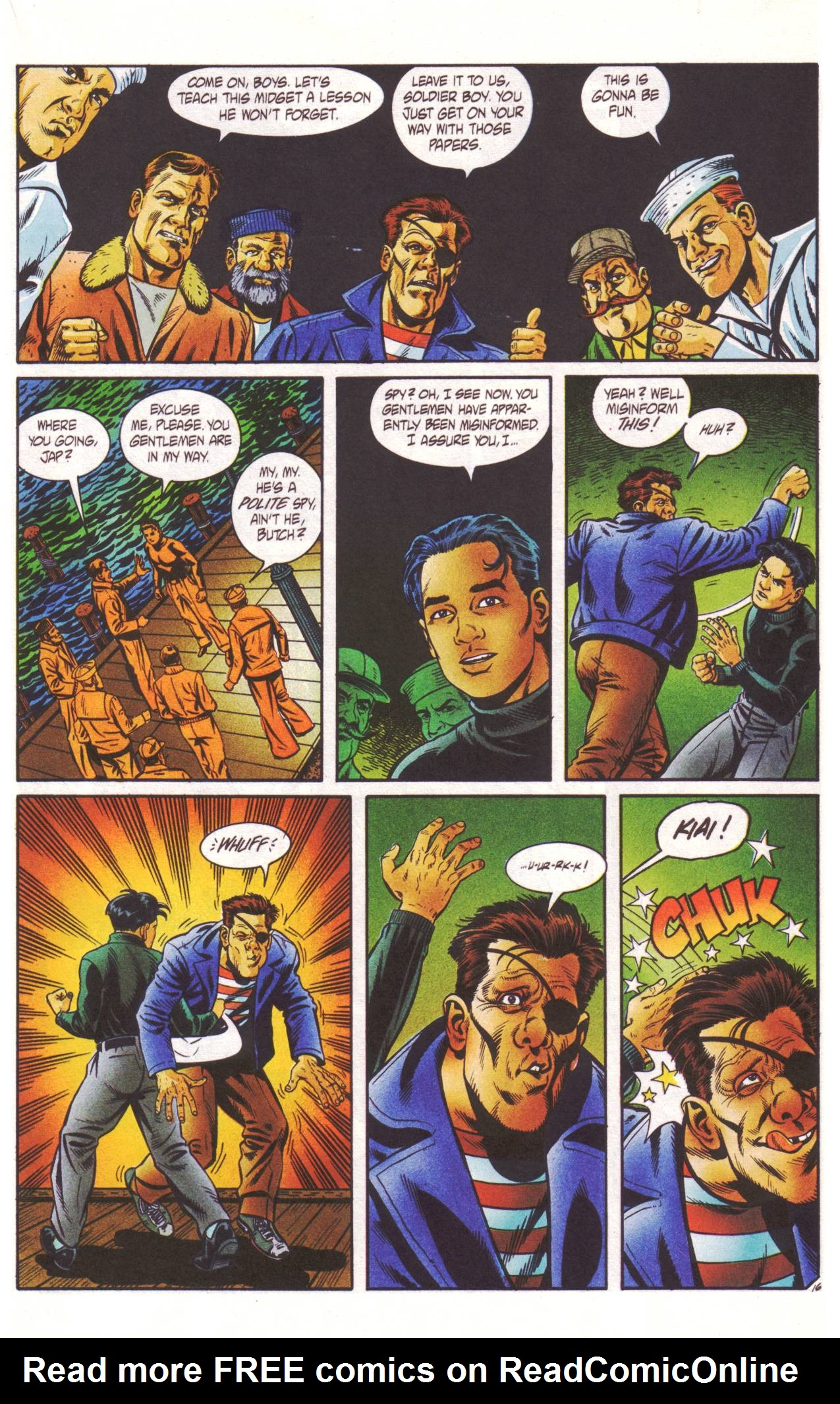 Read online Sting of The Green Hornet comic -  Issue #2 - 17