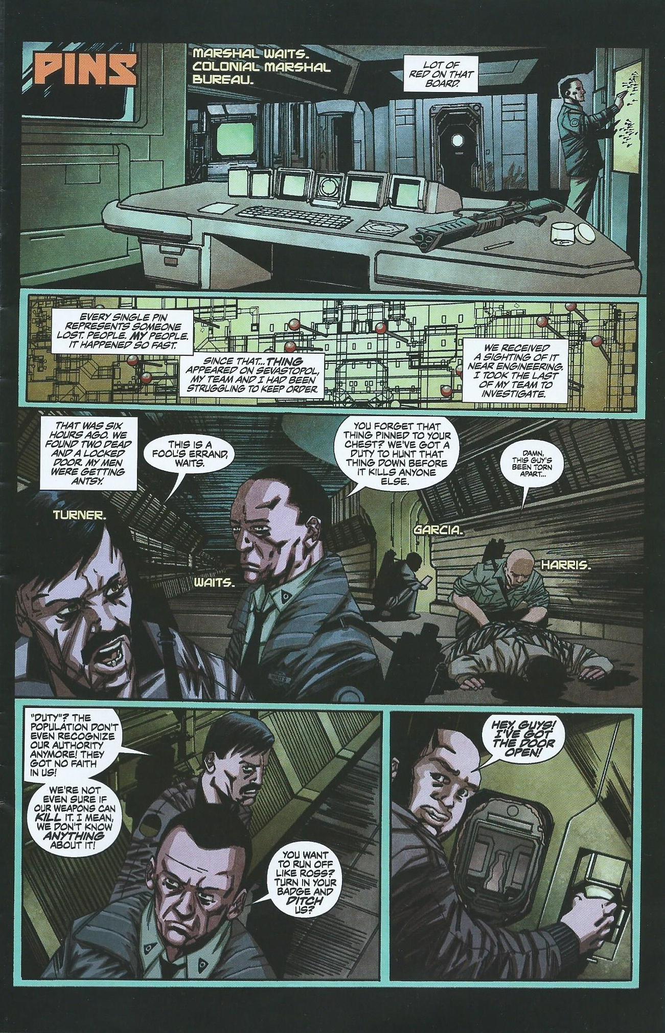 Read online Alien: Isolation comic -  Issue # Full - 4