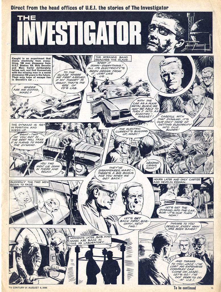 Read online TV Century 21 (TV 21) comic -  Issue #81 - 14
