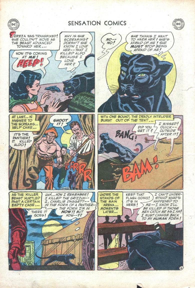 Read online Sensation (Mystery) Comics comic -  Issue #109 - 18