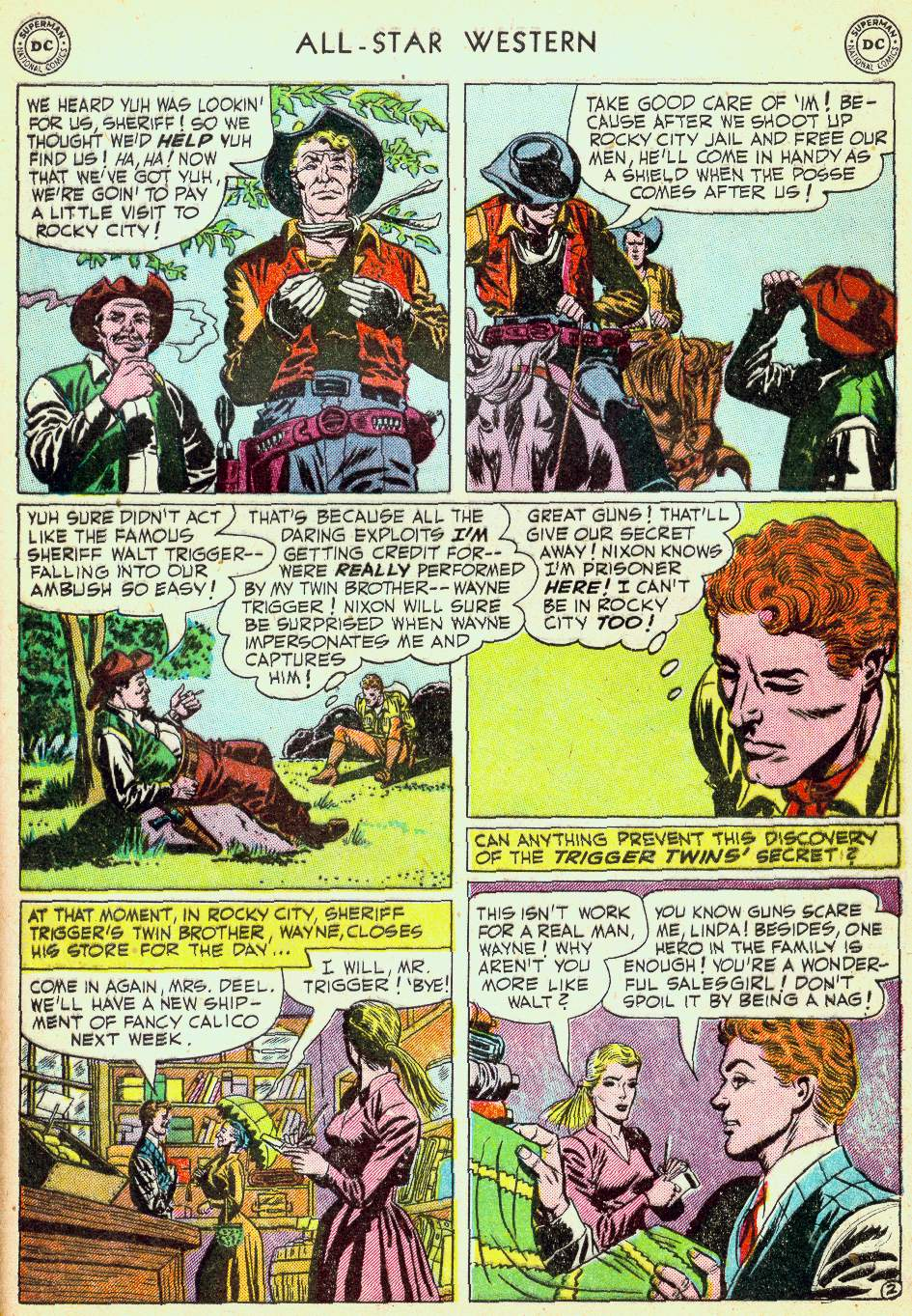 Read online All-Star Western (1951) comic -  Issue #63 - 29