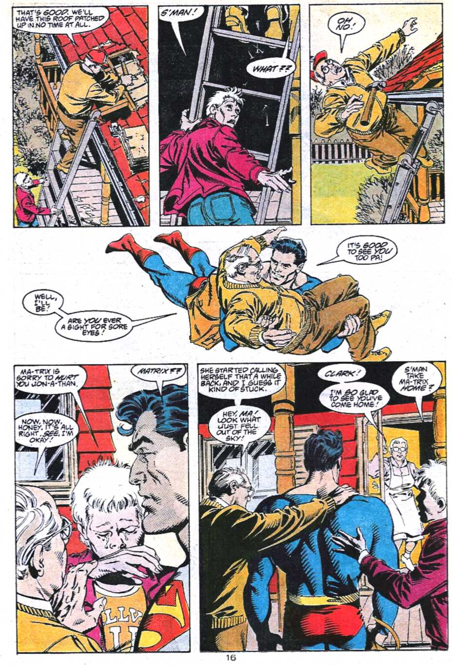 Read online Adventures of Superman (1987) comic -  Issue #450 - 17