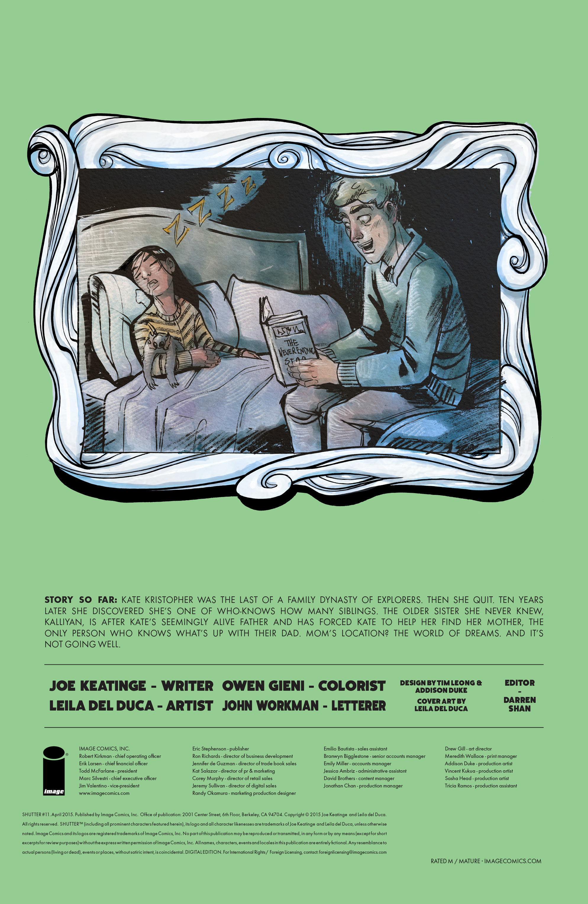 Read online Shutter comic -  Issue #11 - 30