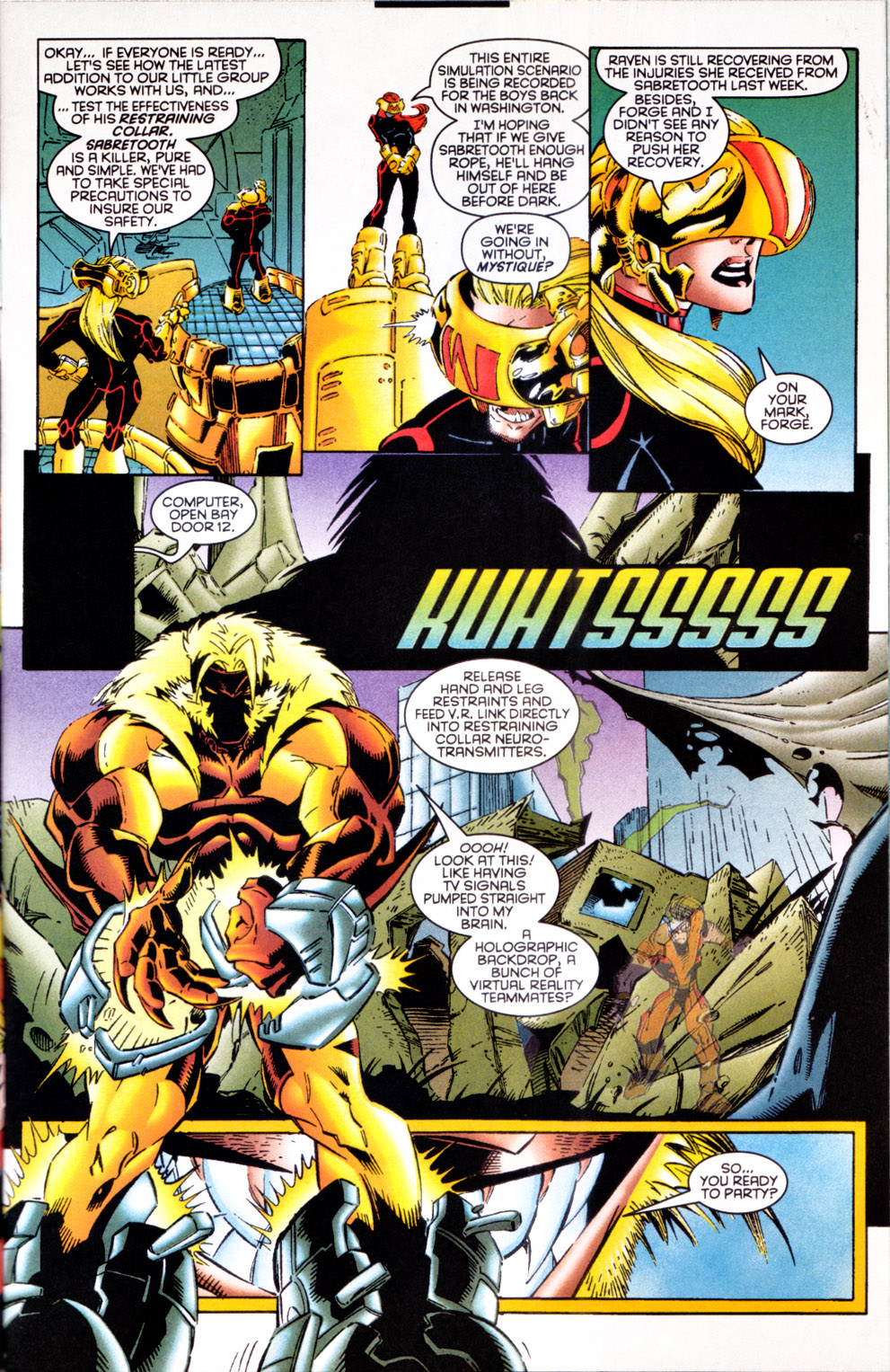 Read online X-Factor (1986) comic -  Issue #124 - 4