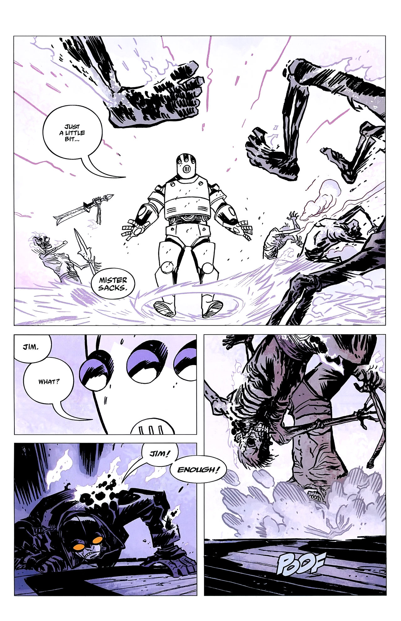Read online Lobster Johnson: The Iron Prometheus comic -  Issue #2 - 8