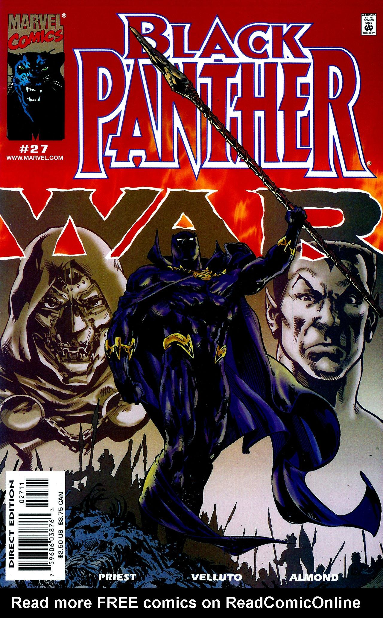 Black Panther (1998) 27 Page 1