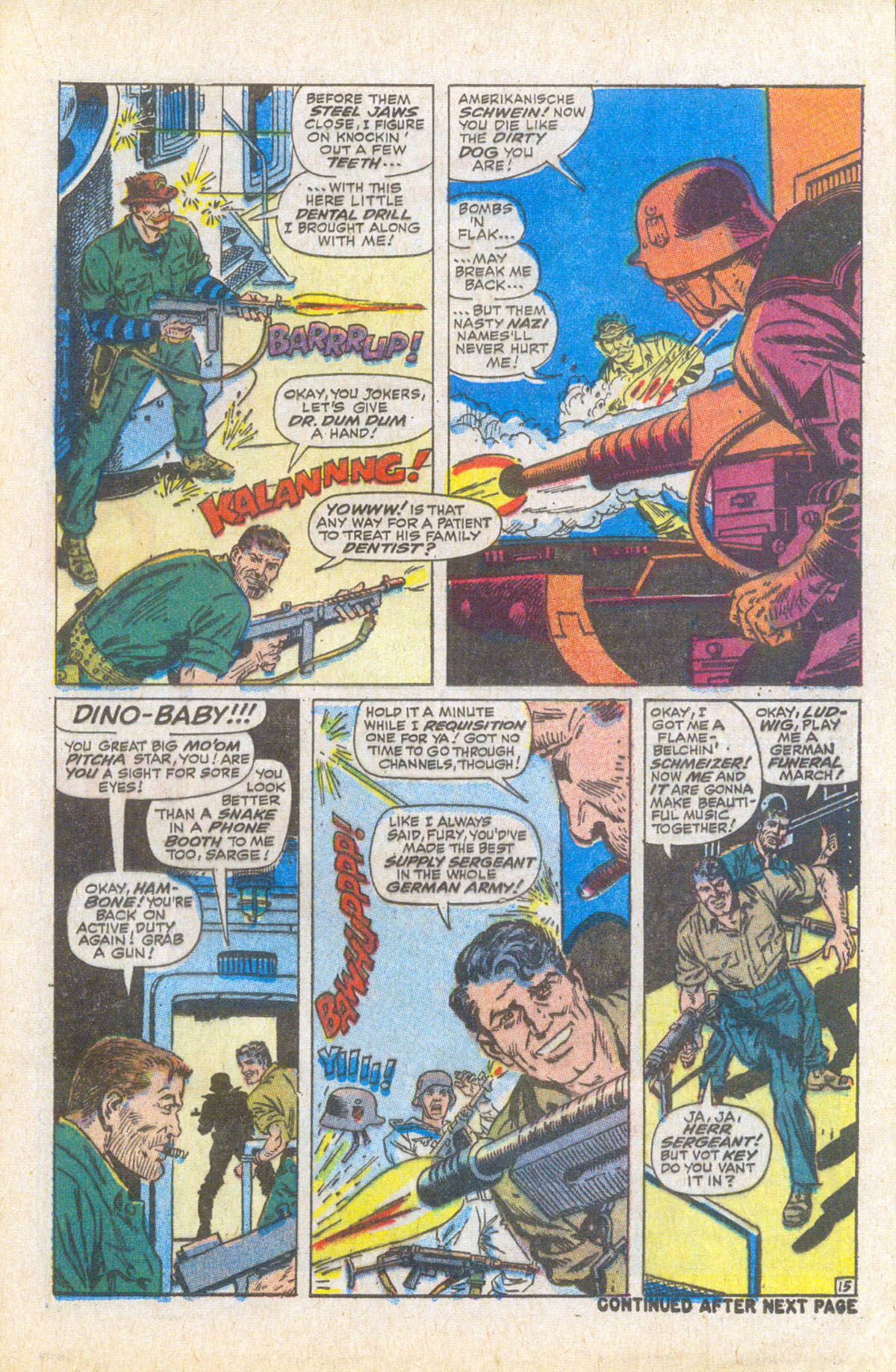 Read online Sgt. Fury comic -  Issue #58 - 21