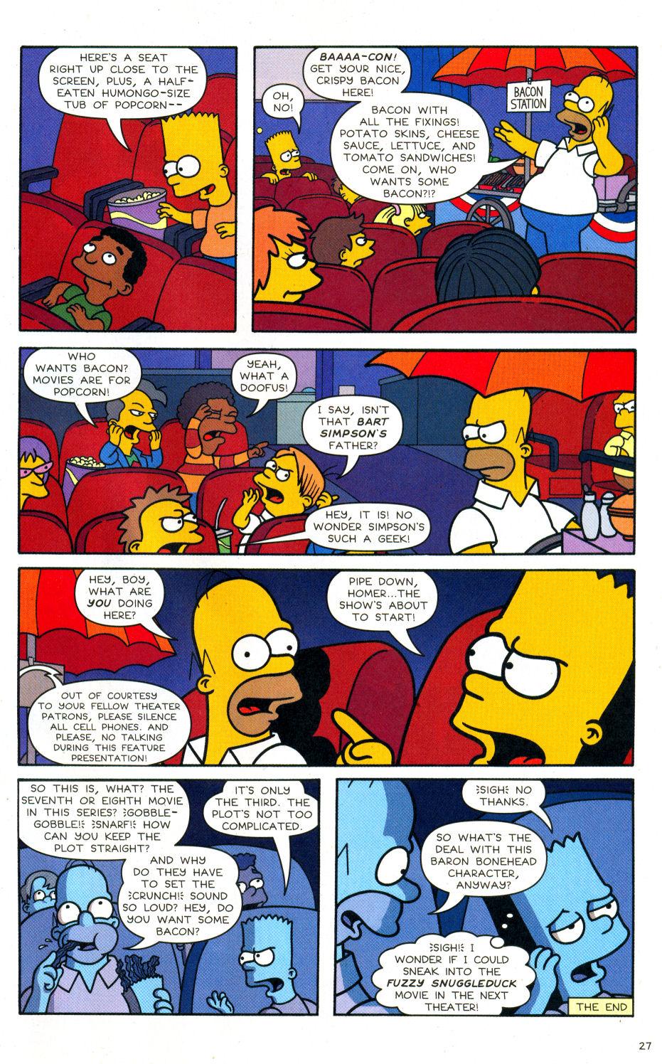 Read online Simpsons Comics Presents Bart Simpson comic -  Issue #28 - 22