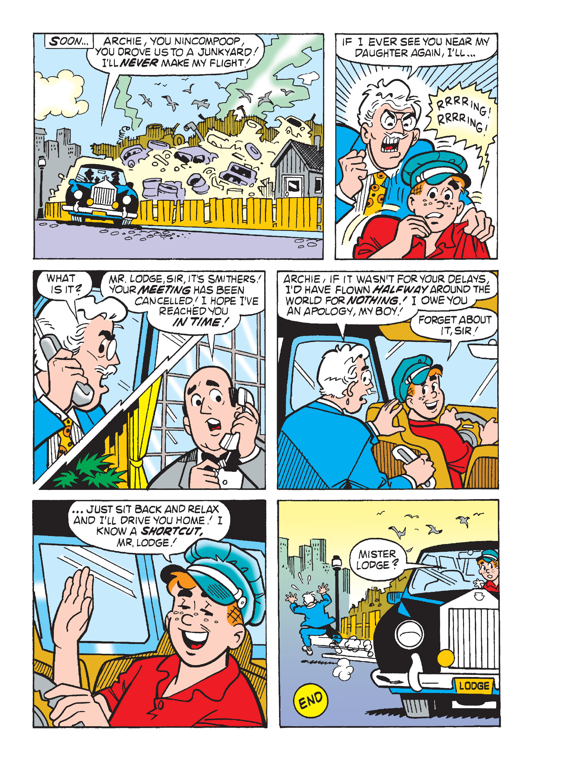 Read online Archie's Funhouse Double Digest comic -  Issue #15 - 202