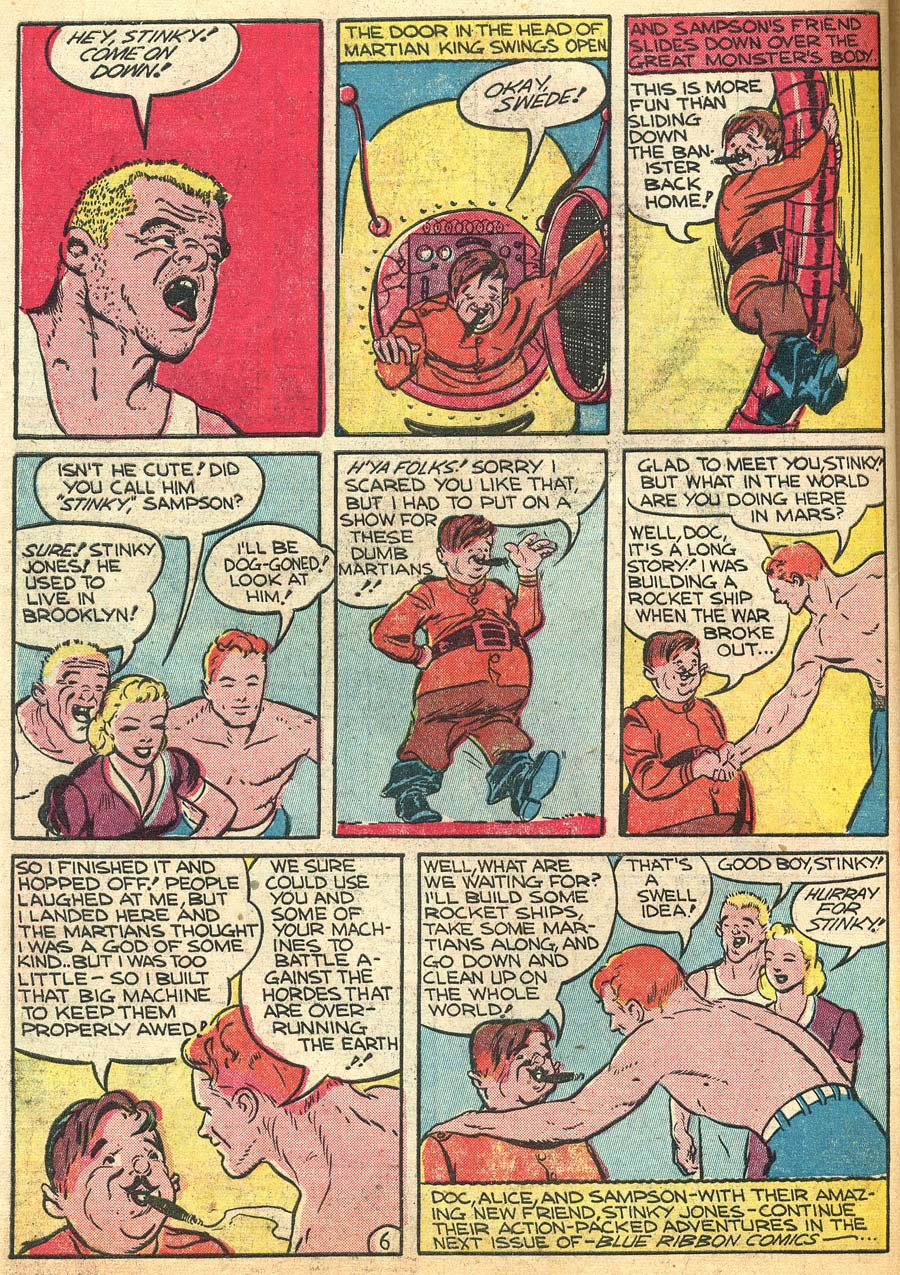 Blue Ribbon Comics (1939) issue 9 - Page 54