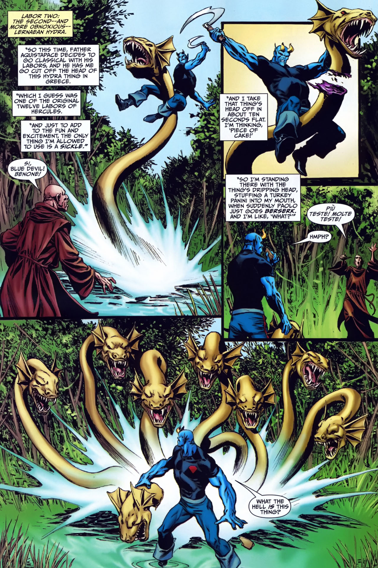 Read online Shadowpact comic -  Issue #24 - 8