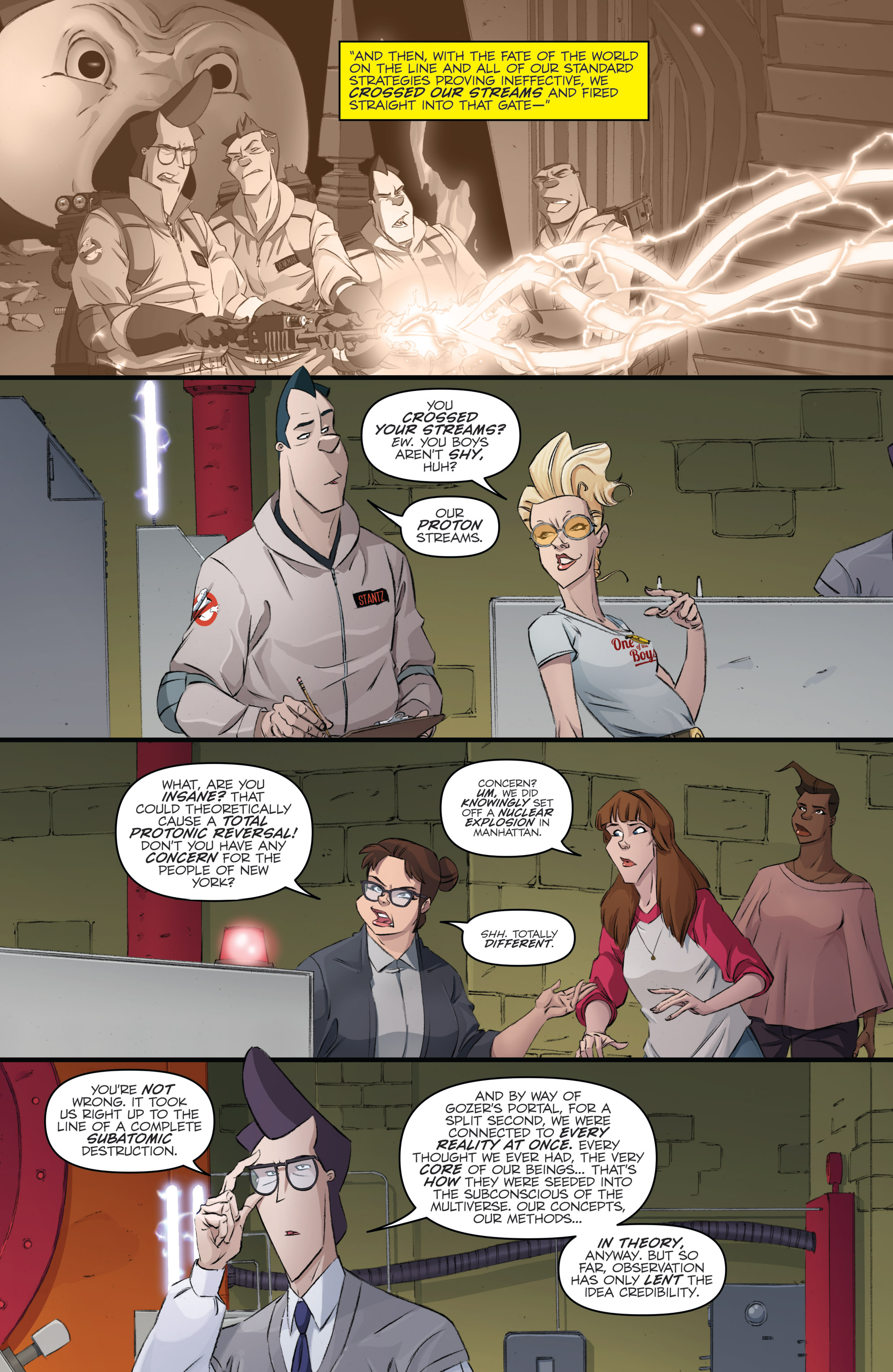 Read online Ghostbusters 101 comic -  Issue #3 - 23