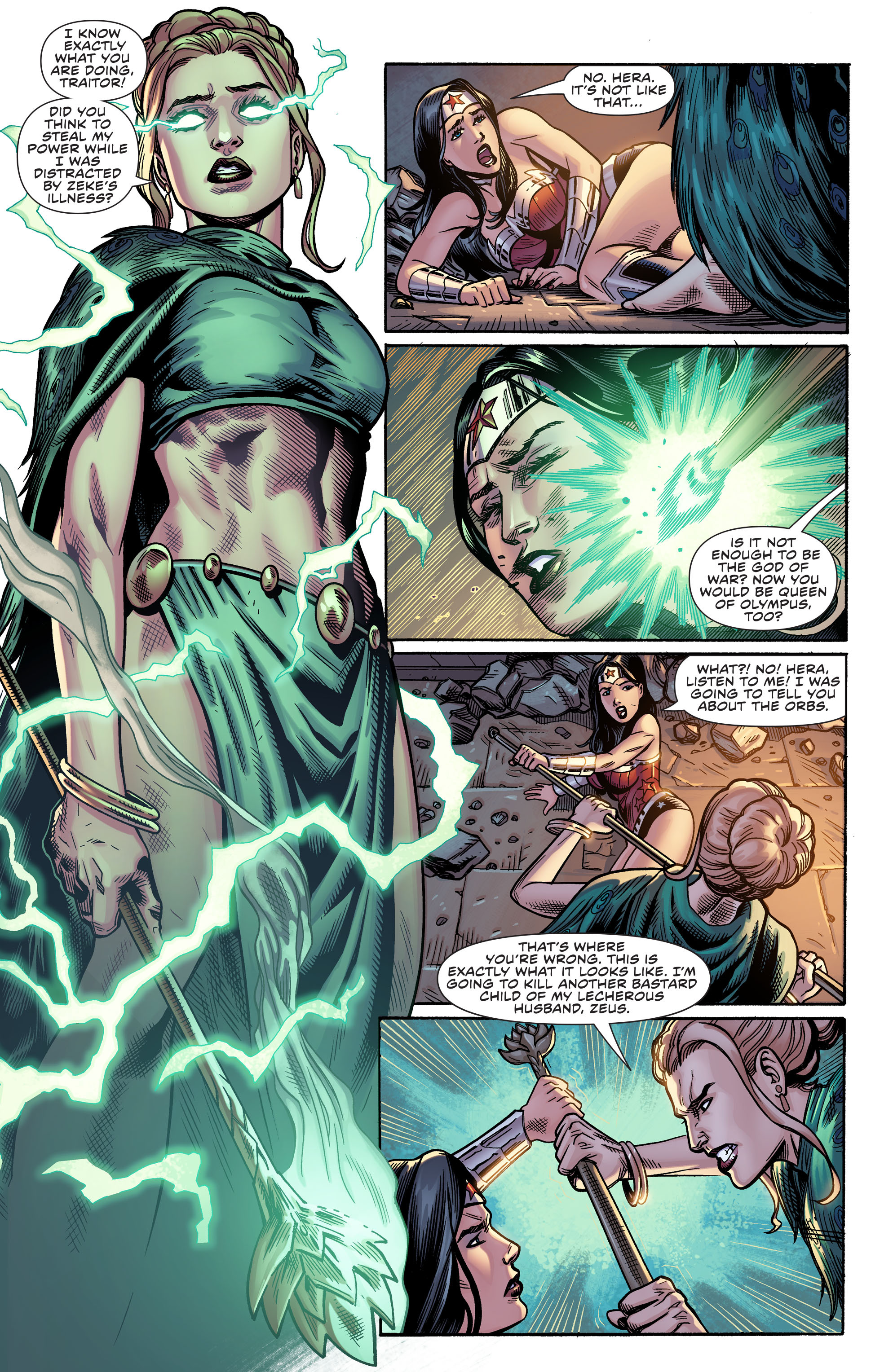 Read online Wonder Woman (2011) comic -  Issue #51 - 16