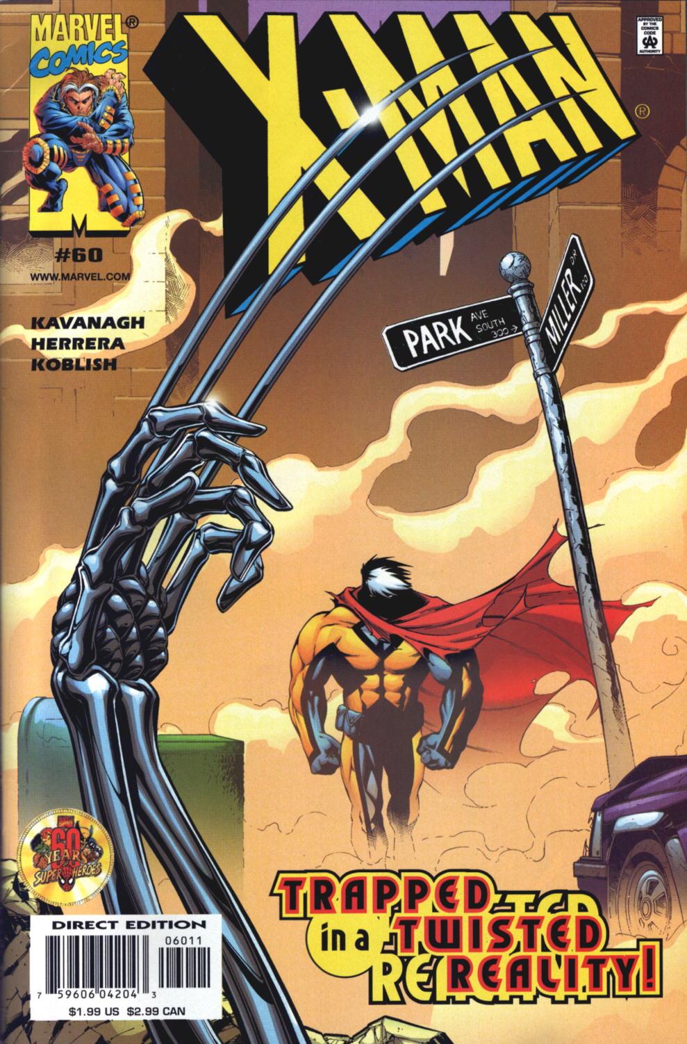 X-Man 60 Page 1