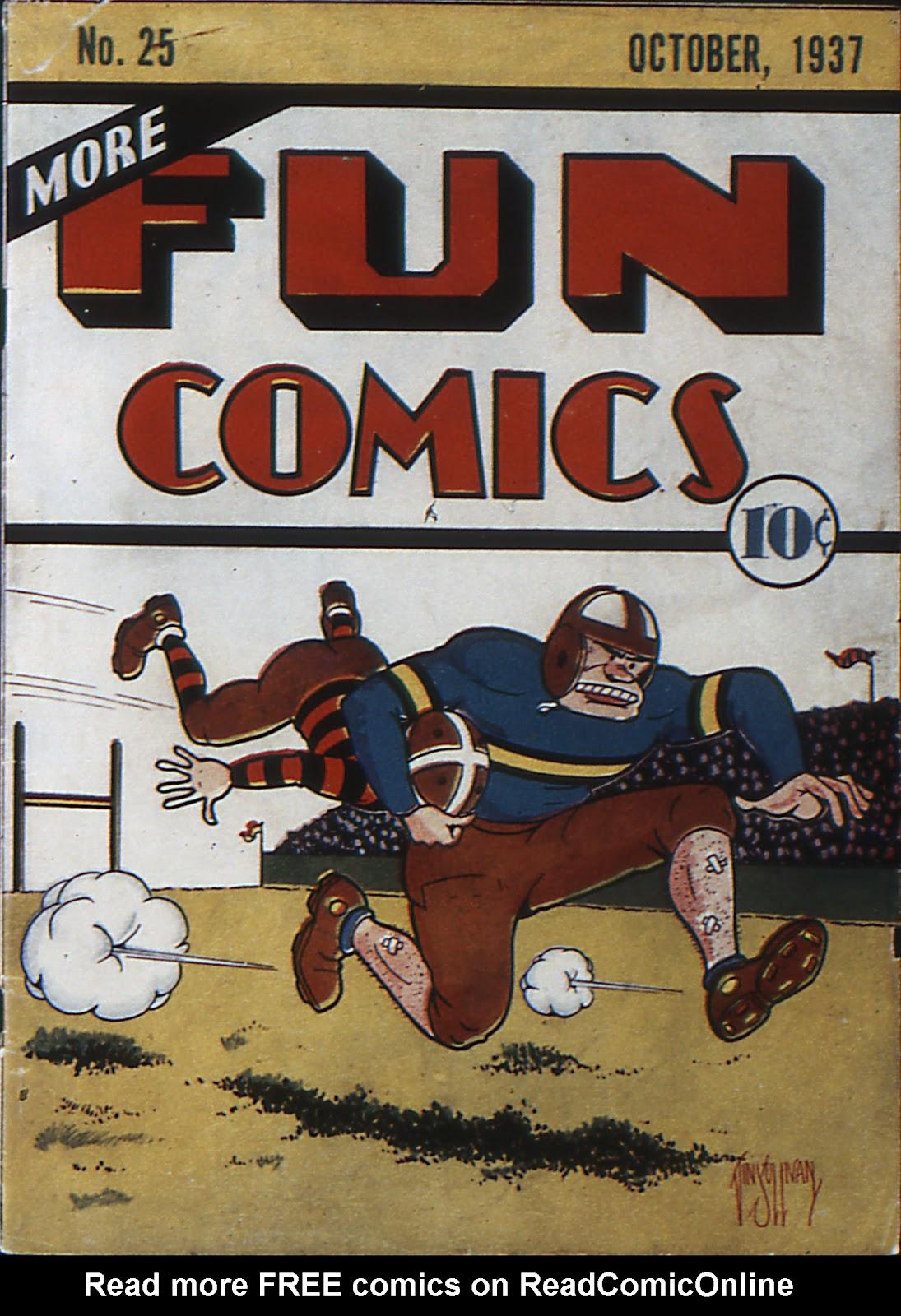 More Fun Comics 25 Page 1