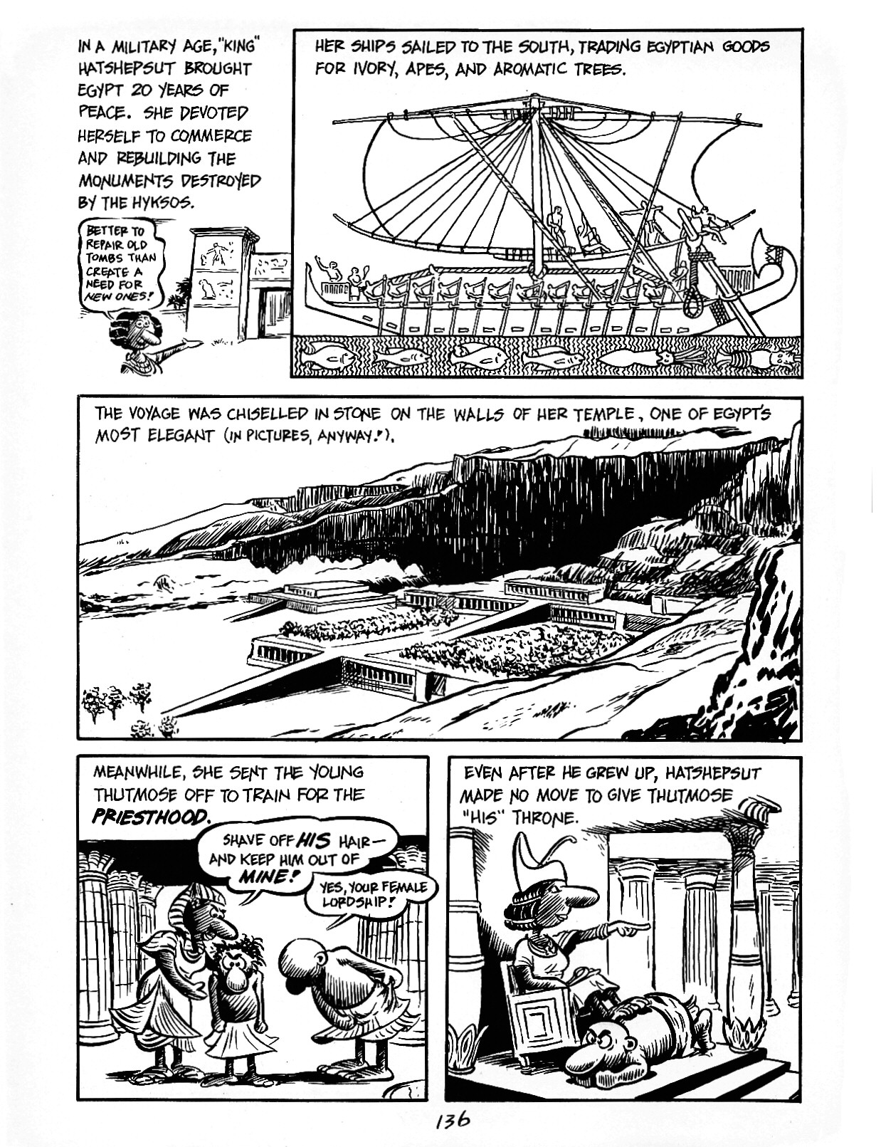 Read online The Cartoon History of the Universe comic -  Issue #3 - 36