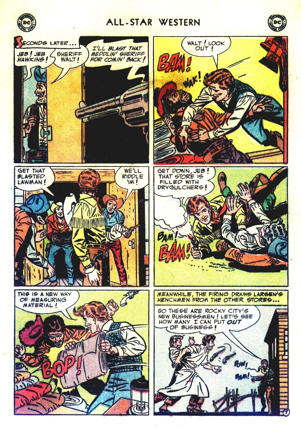 Read online All-Star Western (1951) comic -  Issue #66 - 9