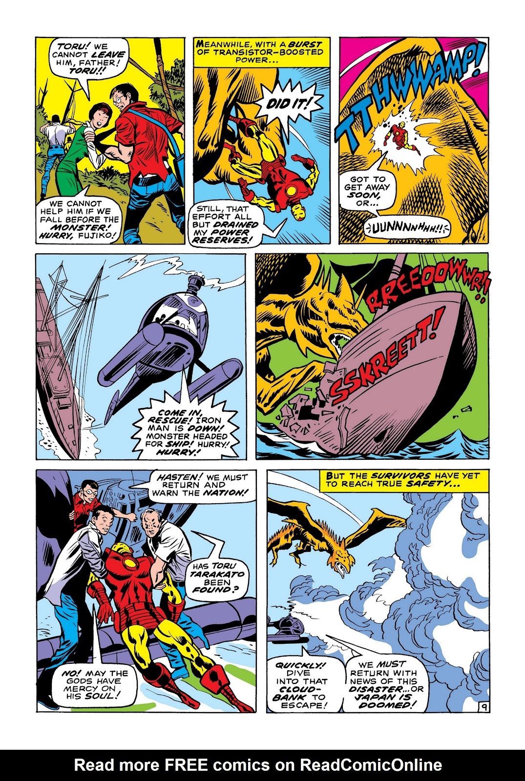 Read online Marvel Masterworks: The Invincible Iron Man comic -  Issue # TPB 7 (Part 1) - 98