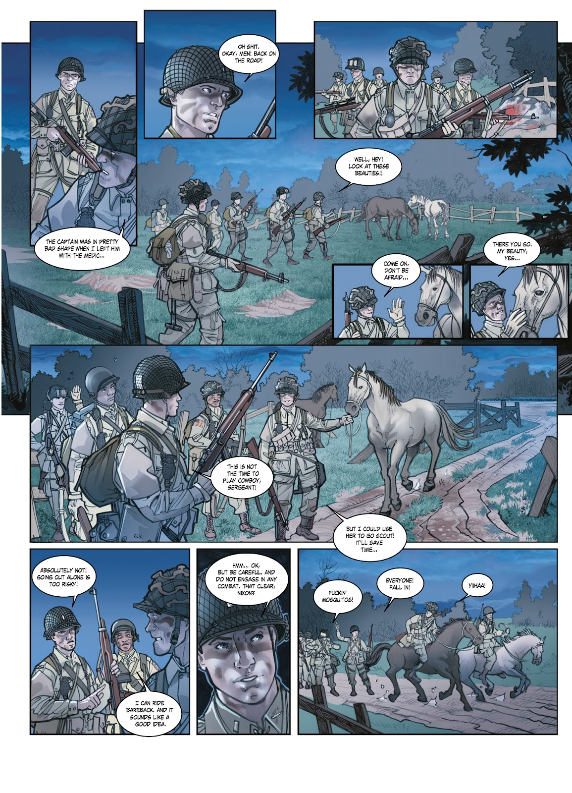 Read online Opération Overlord comic -  Issue #1 - 22