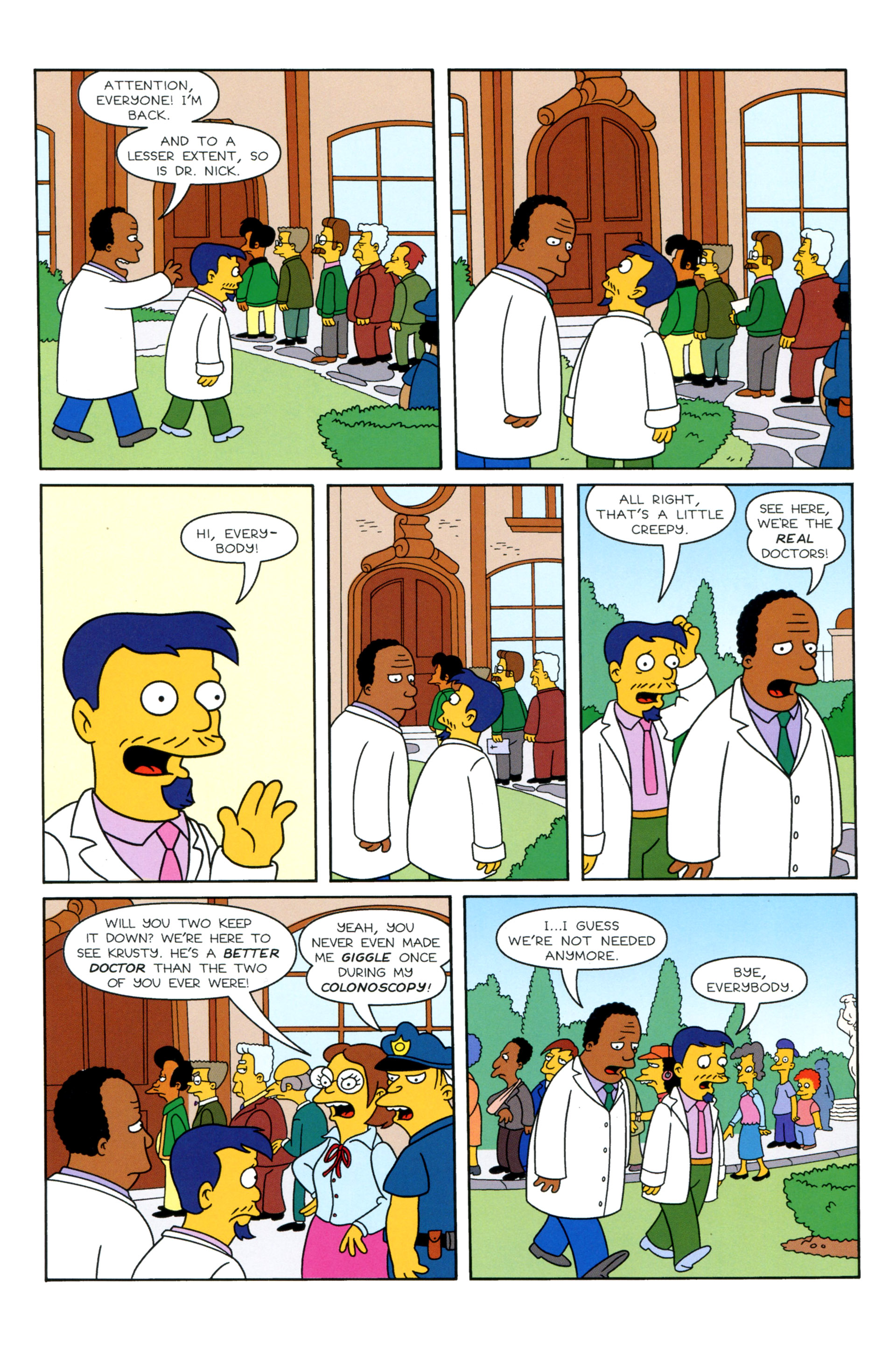 Read online Simpsons Illustrated (2012) comic -  Issue #8 - 21