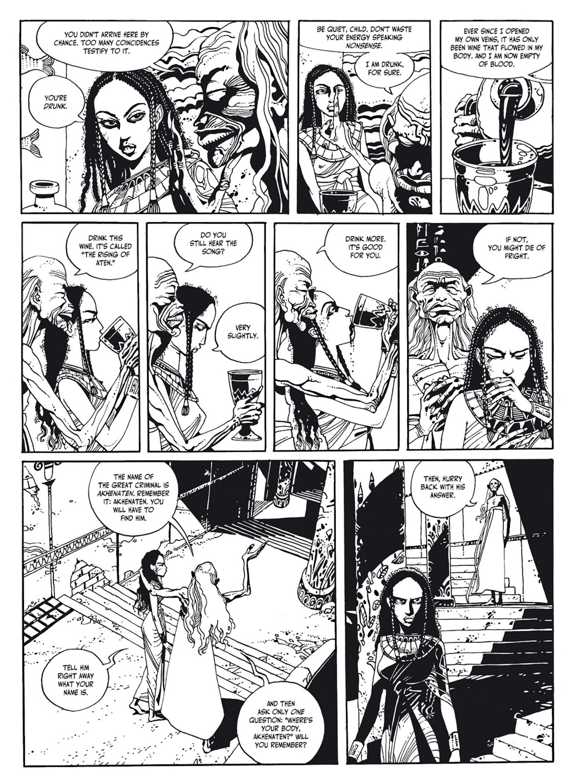 Read online The Egyptian Princesses comic -  Issue # TPB 1 (Part 1) - 56