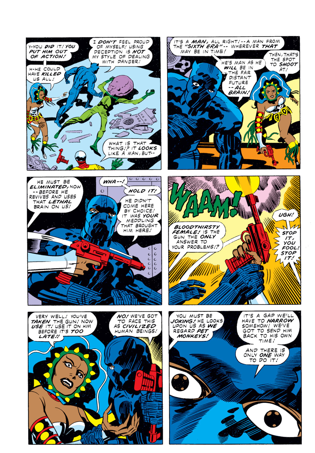 Black Panther (1977) issue 2 - Page 6