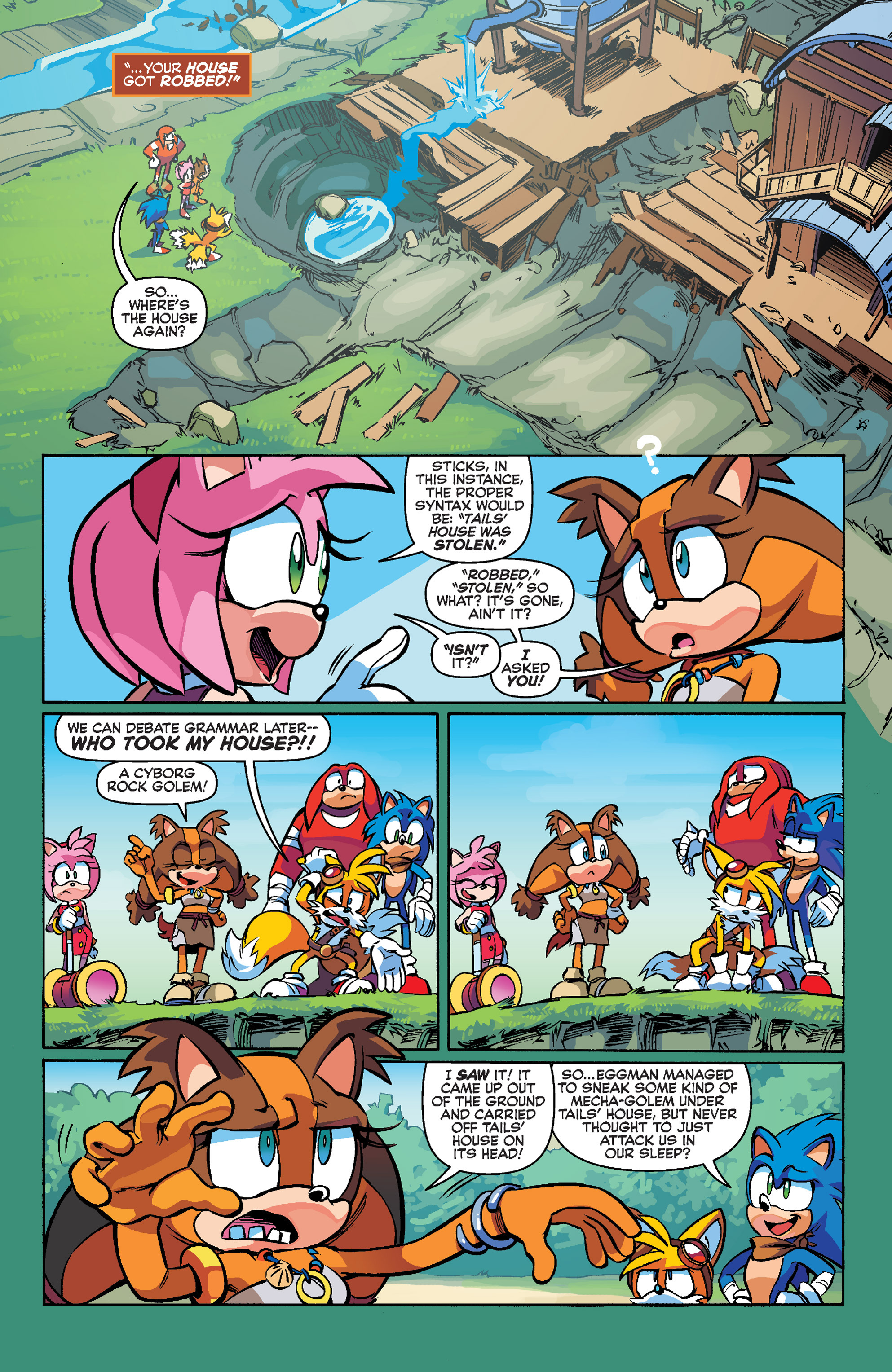 Read online Sonic Boom comic -  Issue #1 - 11
