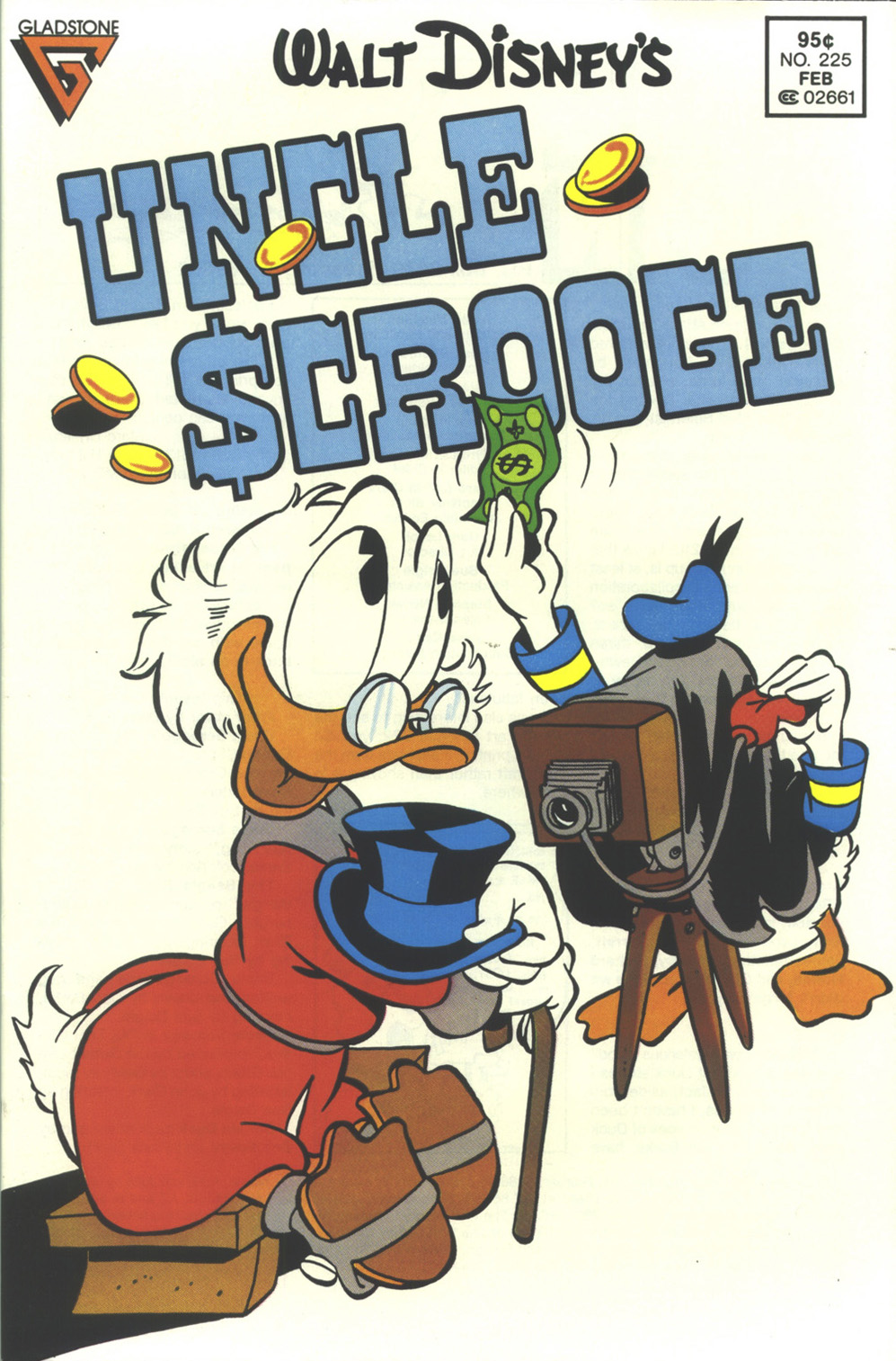 Read online Uncle Scrooge (1953) comic -  Issue #225 - 1