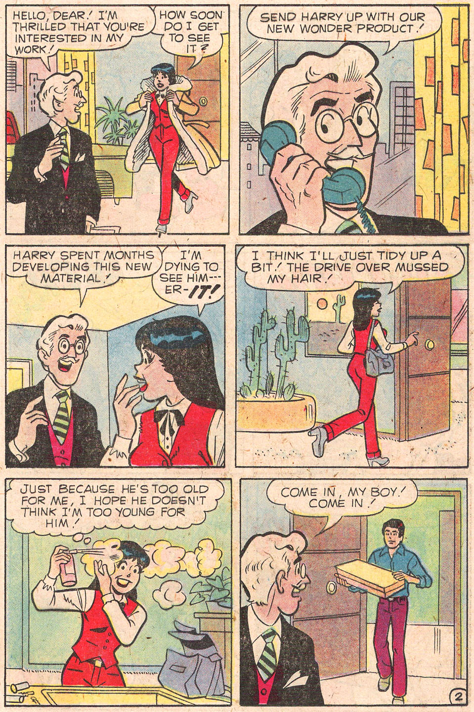 Read online Archie's Girls Betty and Veronica comic -  Issue #279 - 21