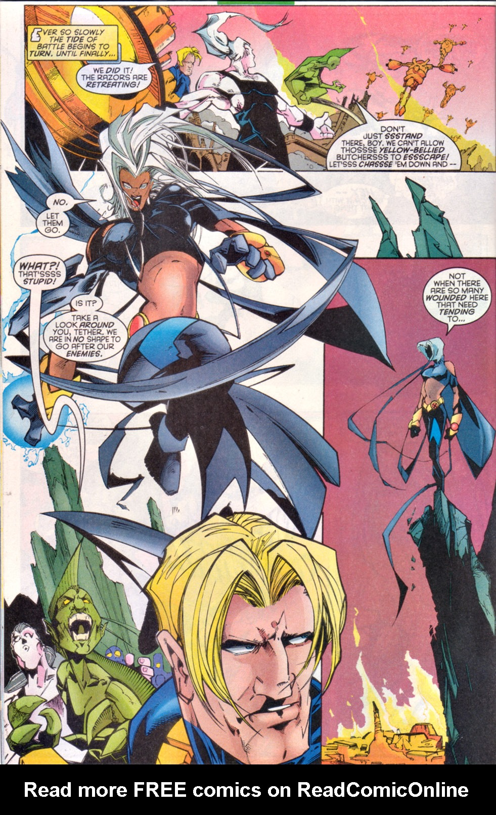 Read online Uncanny X-Men (1963) comic -  Issue # _Annual 1997 - 8