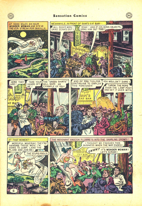 Read online Sensation (Mystery) Comics comic -  Issue #81 - 7