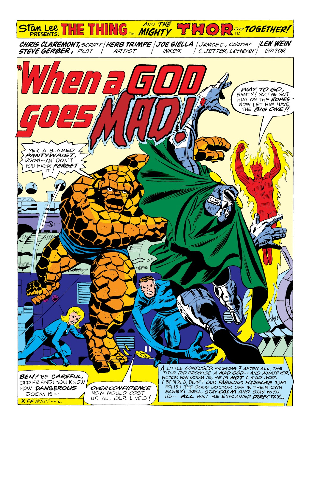 Read online Marvel Two-In-One Epic Collection: Cry Monster comic -  Issue # TPB (Part 2) - 100