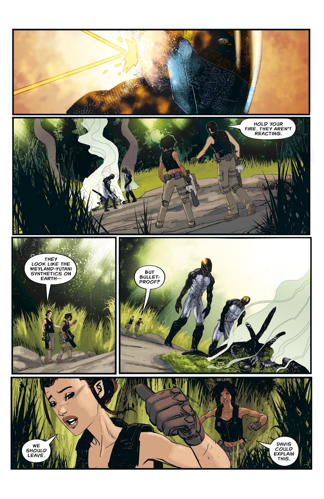Read online Aliens: Resistance comic -  Issue #3 - 18