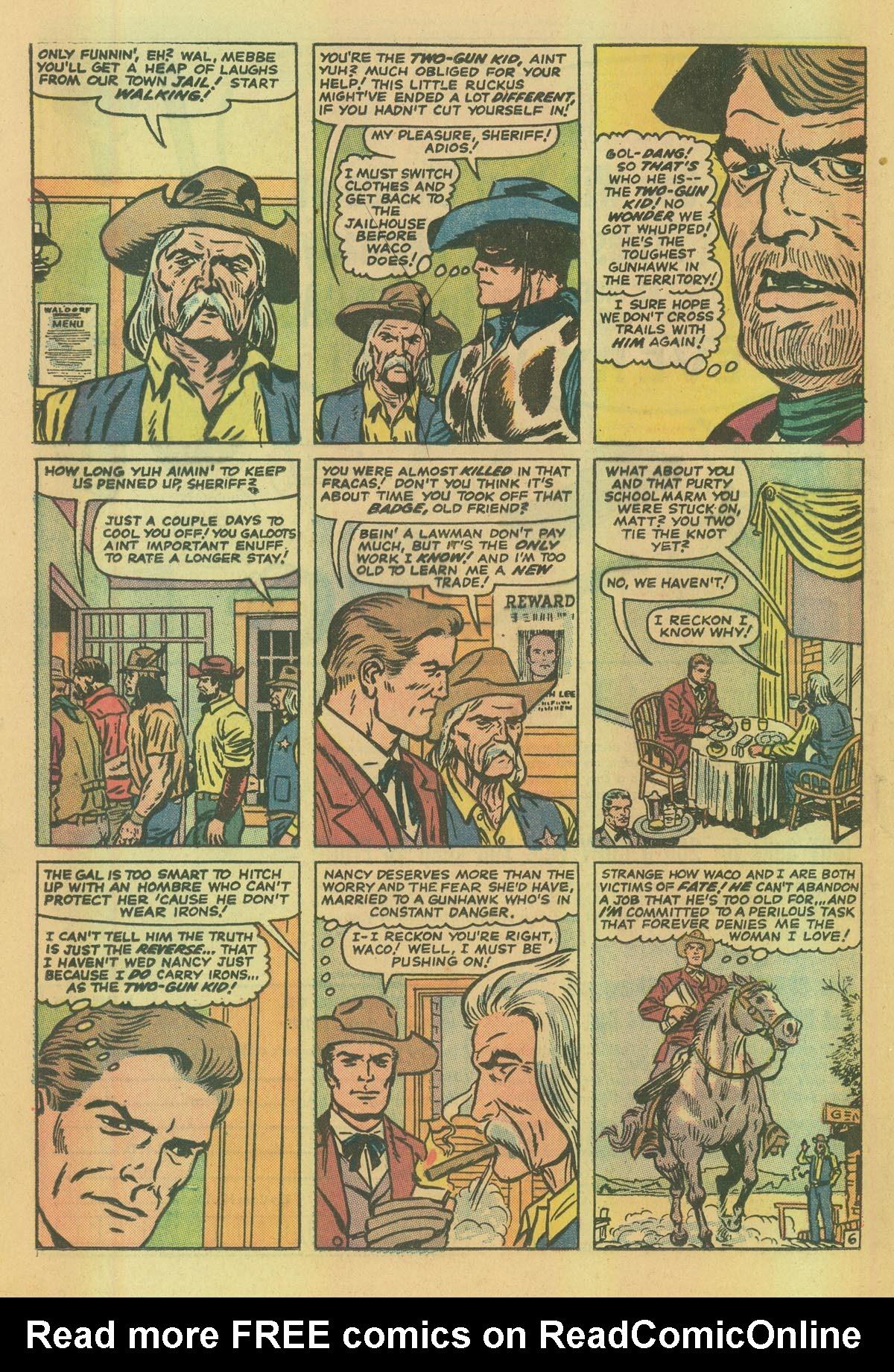 Read online Two-Gun Kid comic -  Issue #114 - 12