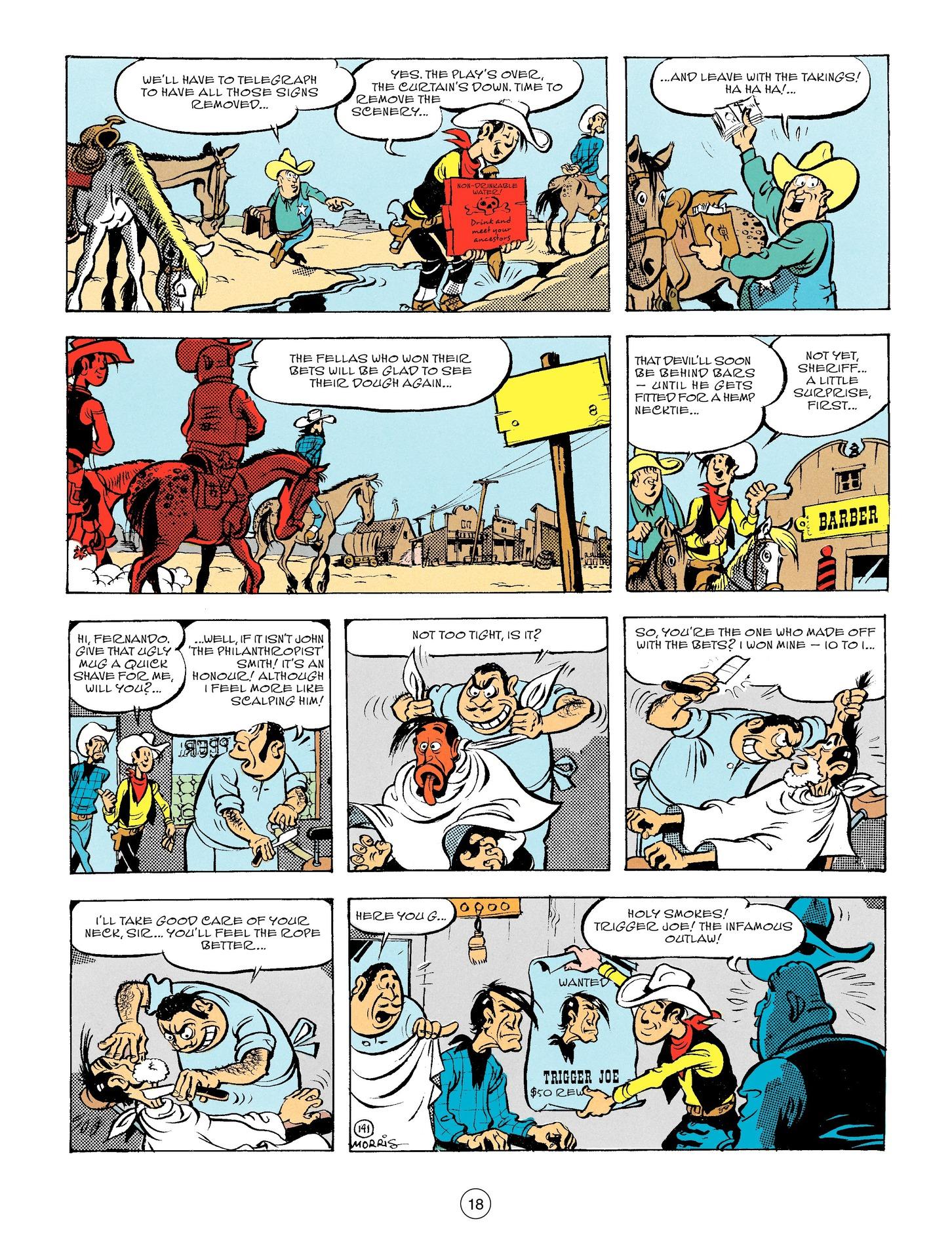 Read online A Lucky Luke Adventure comic -  Issue #56 - 18