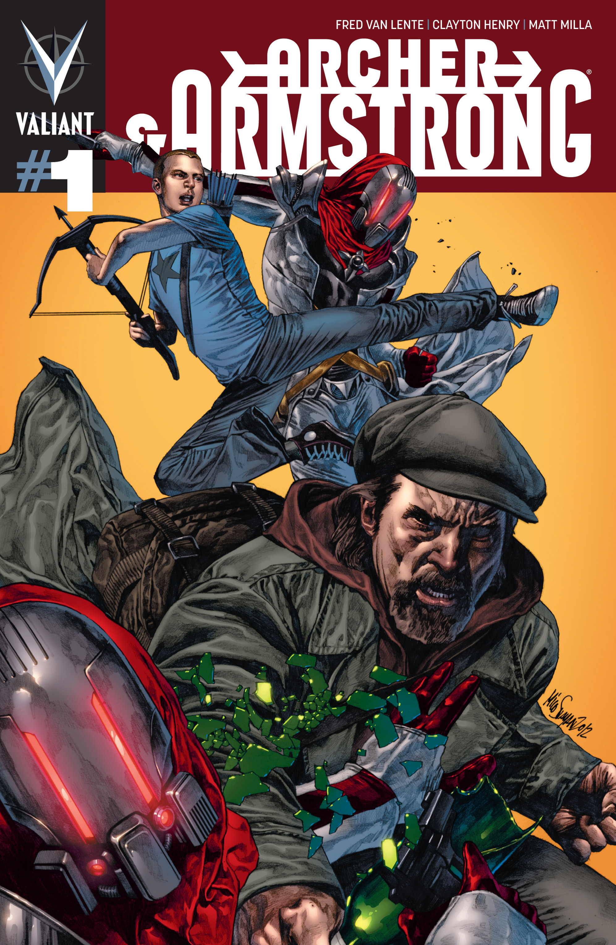 Read online Archer and Armstrong comic -  Issue #Archer and Armstrong _TPB 1 - 6