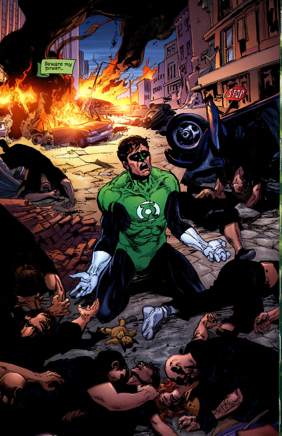 Read online Green Lantern: Legacy: The Last Will and Testament of Hal Jordan comic -  Issue # TPB - 9