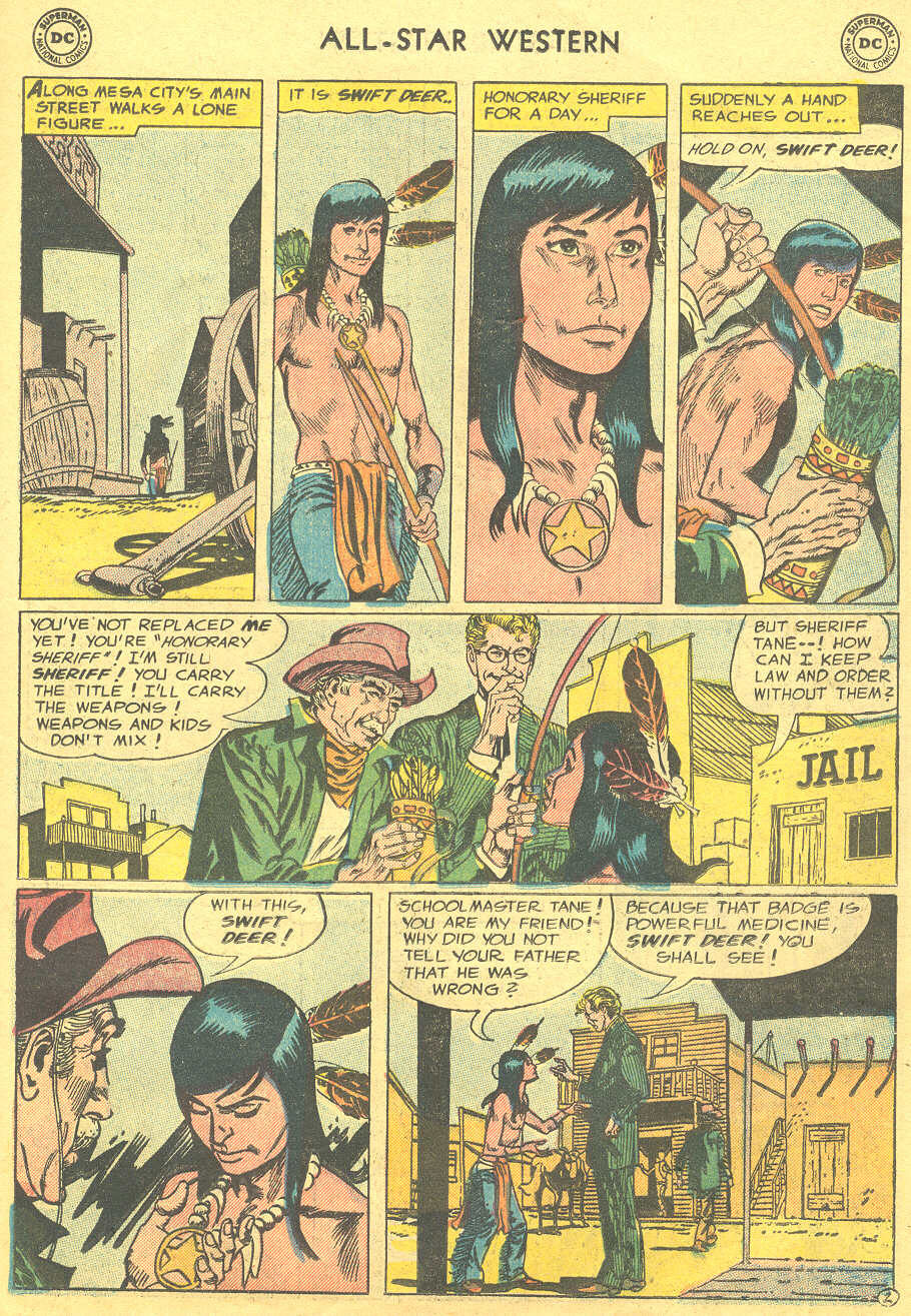 Read online All-Star Western (1951) comic -  Issue #88 - 11