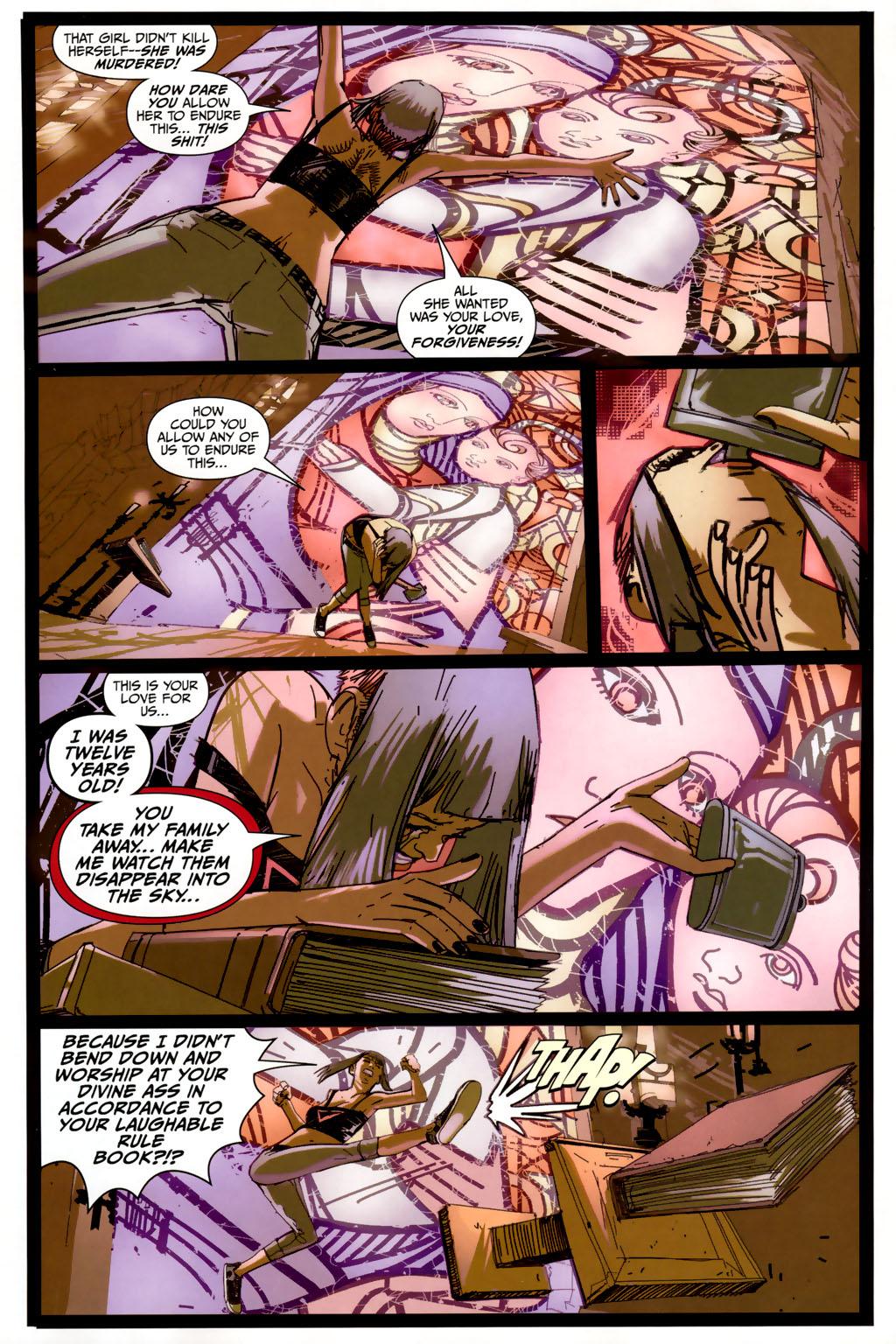 Read online Strange Girl comic -  Issue #6 - 15