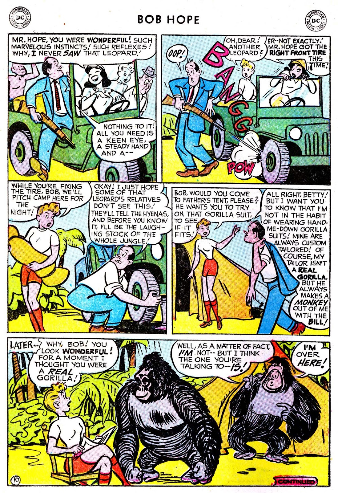 The Adventures of Bob Hope issue 33 - Page 12