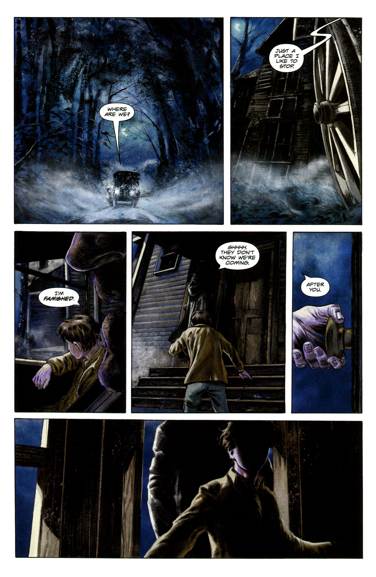 Read online Severed comic -  Issue #5 - 8