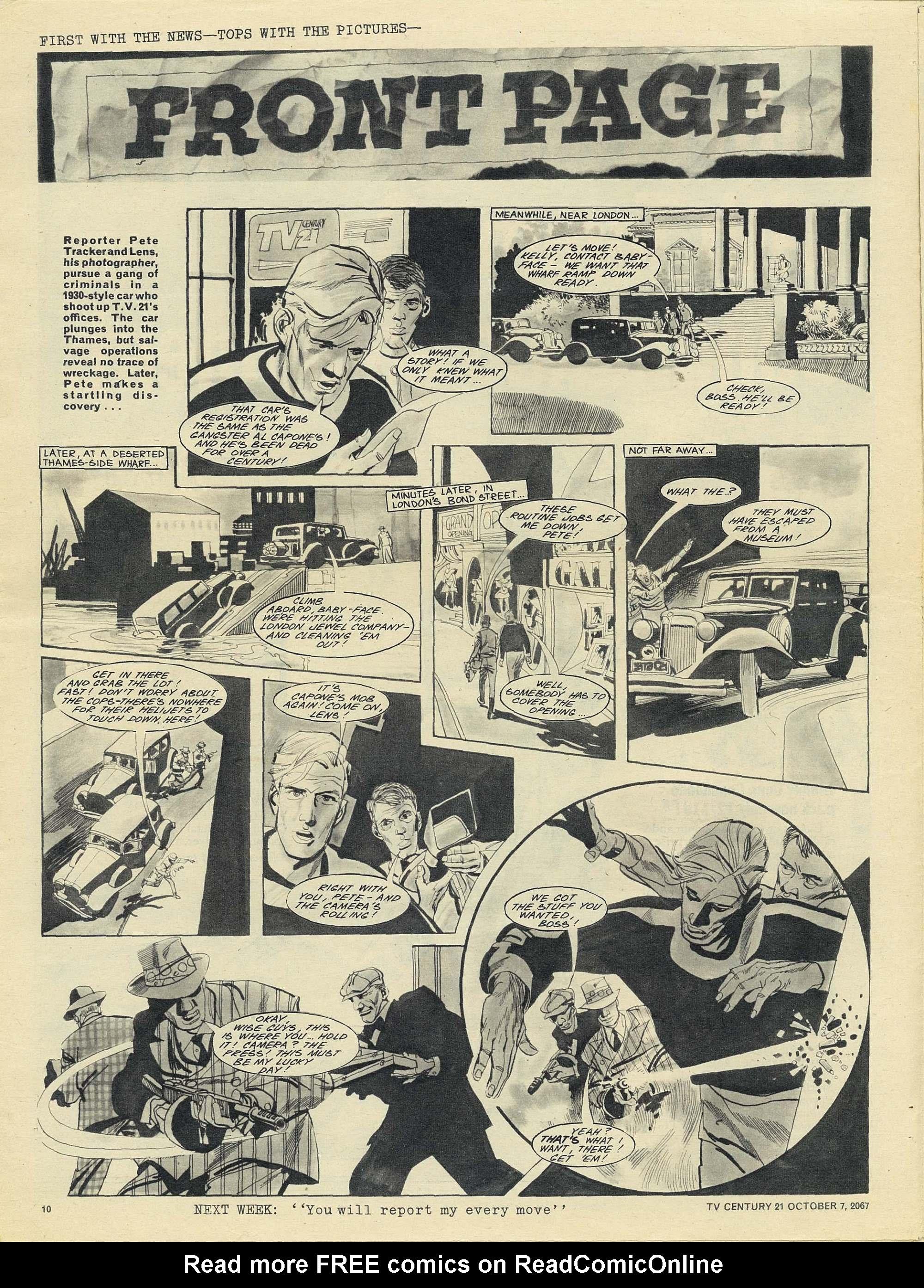 Read online TV Century 21 (TV 21) comic -  Issue #142 - 10