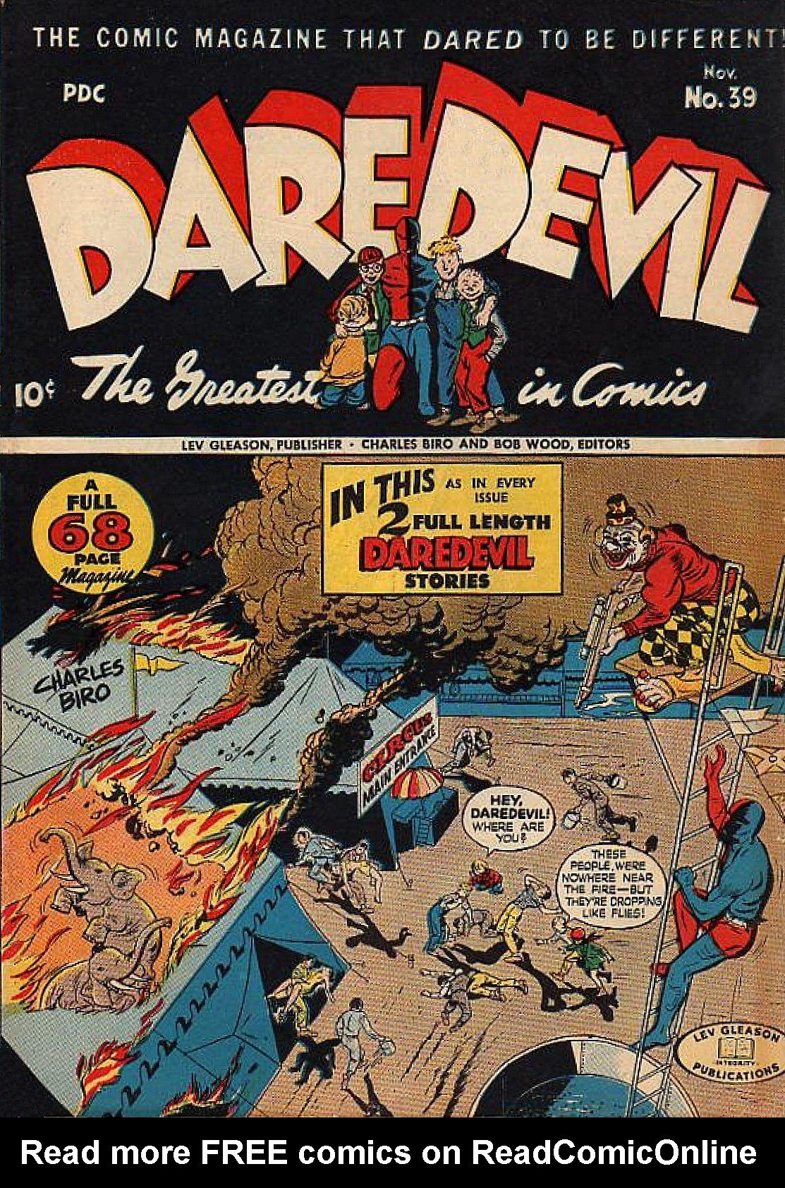 Daredevil (1941) 39 Page 1