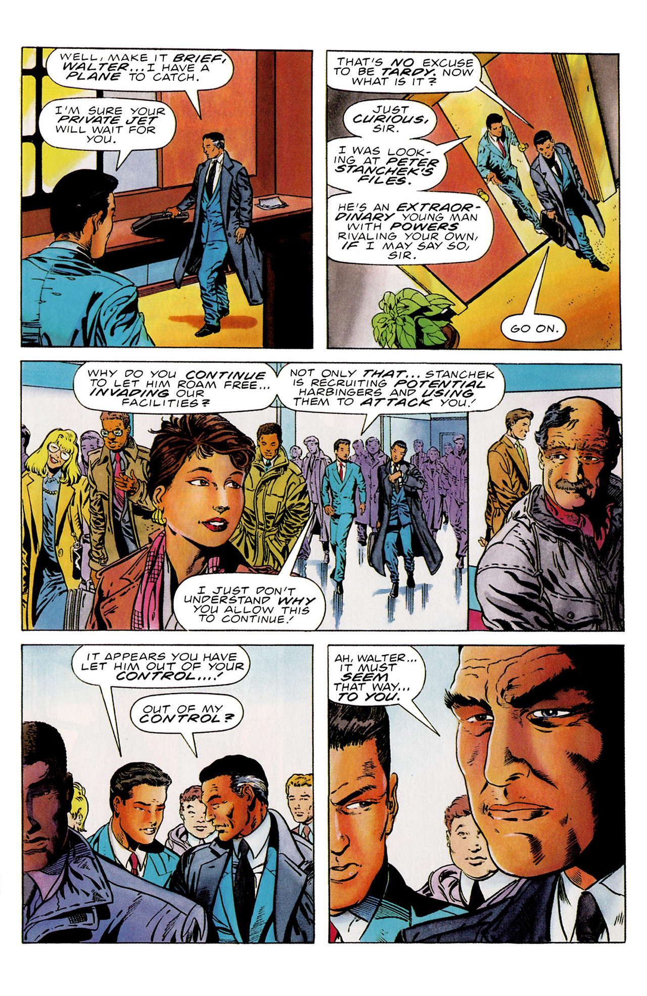 Read online Harbinger (1992) comic -  Issue #18 - 10