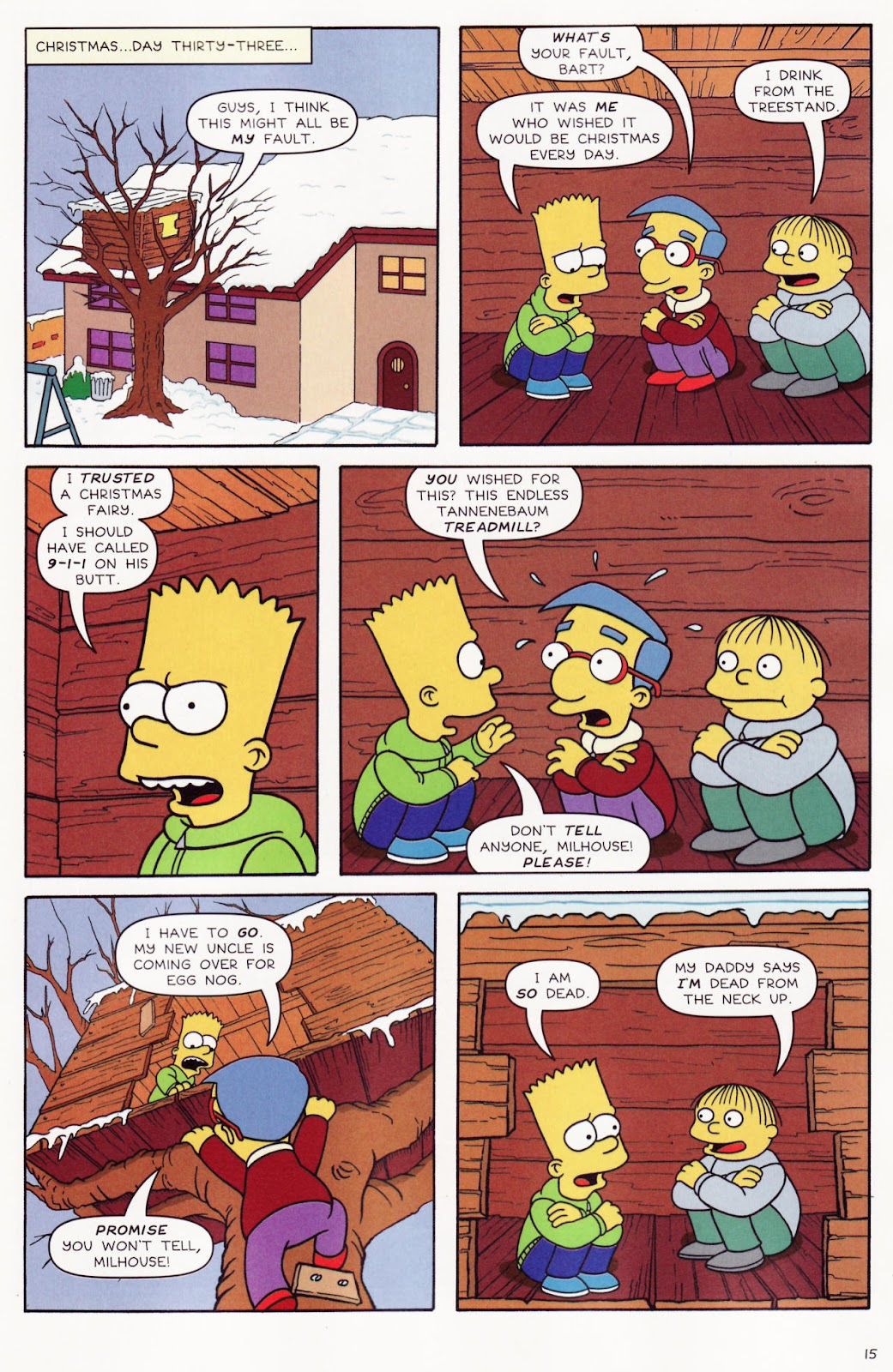 Read online The Simpsons Winter Wingding comic -  Issue #2 - 17
