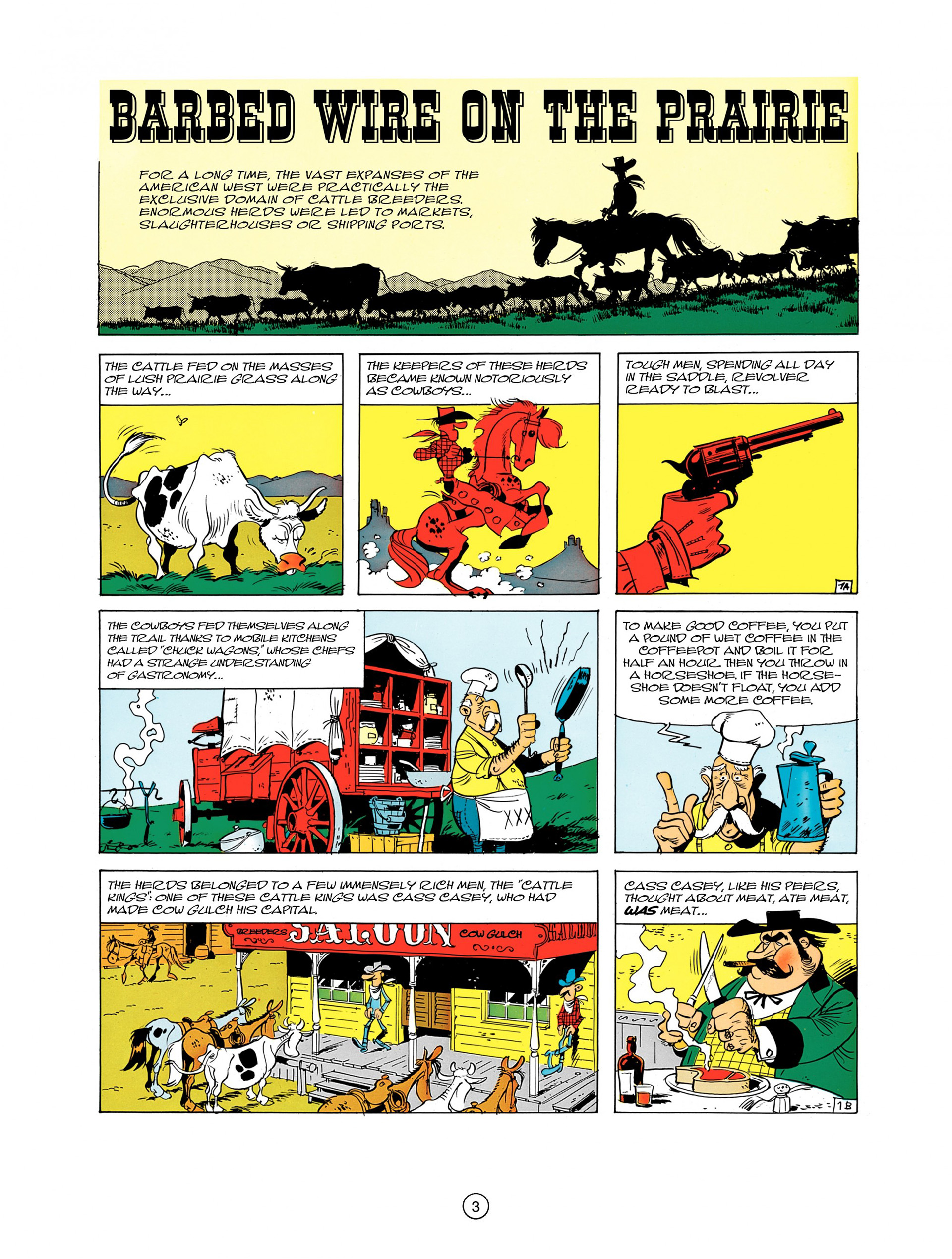 Read online A Lucky Luke Adventure comic -  Issue #7 - 3