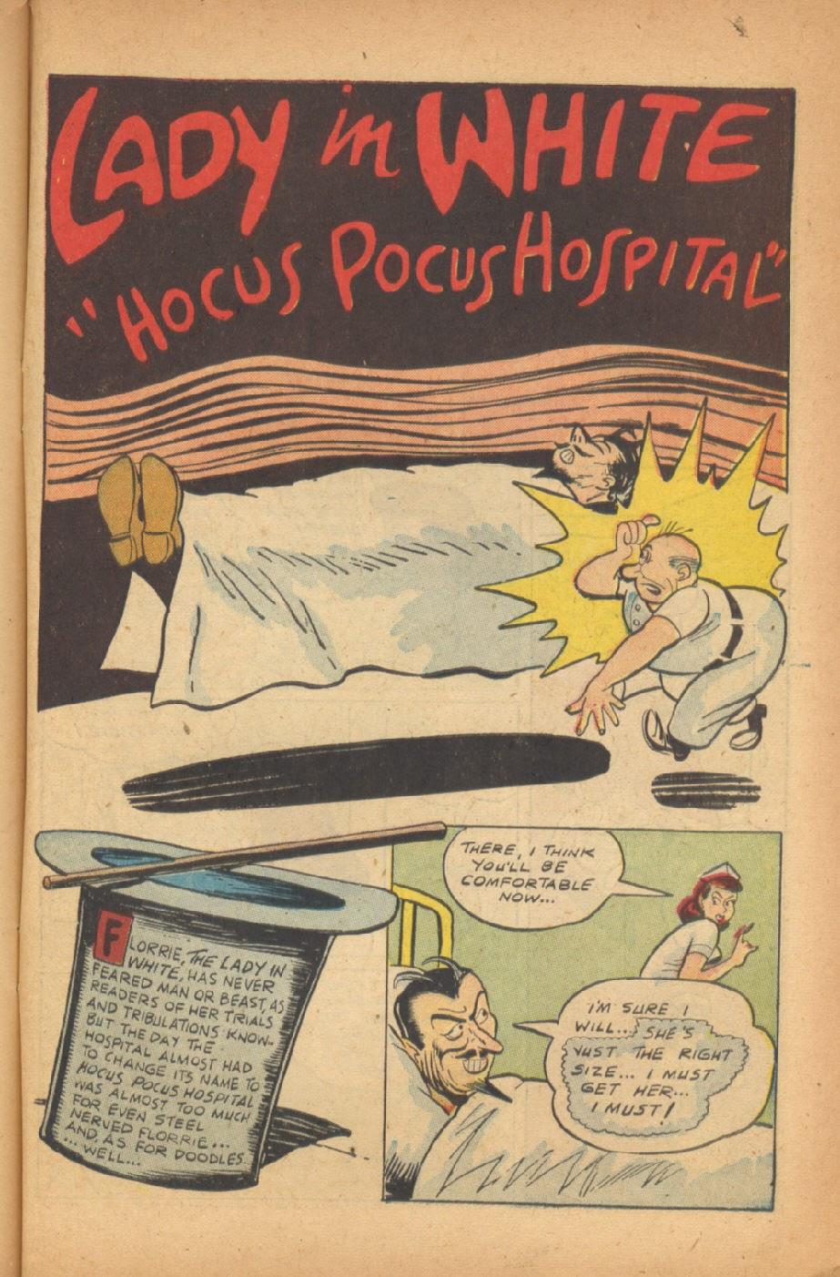 Read online Super-Magician Comics comic -  Issue #47 - 43