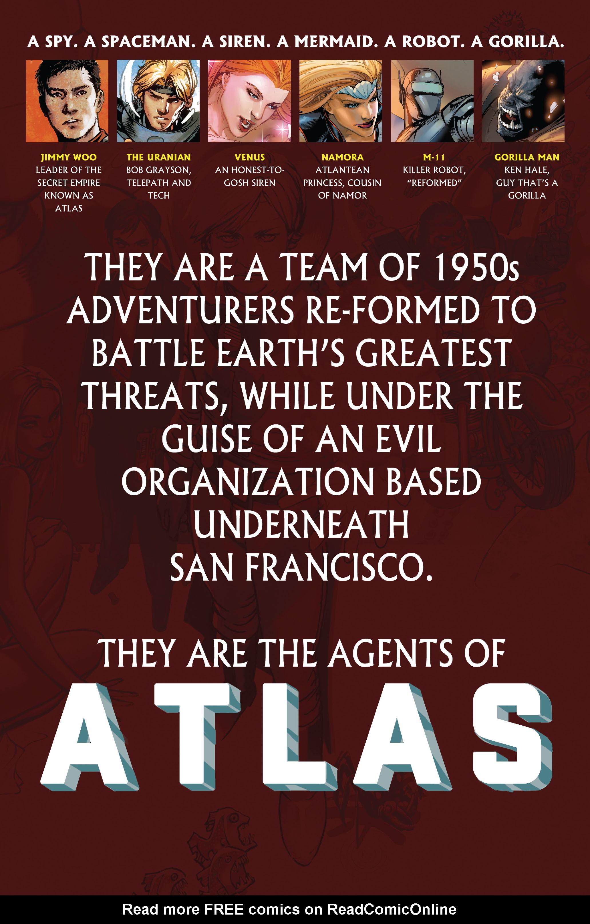 Read online Atlas comic -  Issue #1 - 2