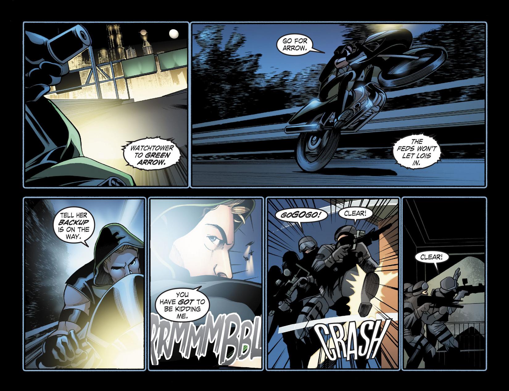 Read online Smallville: Season 11 comic -  Issue #20 - 15